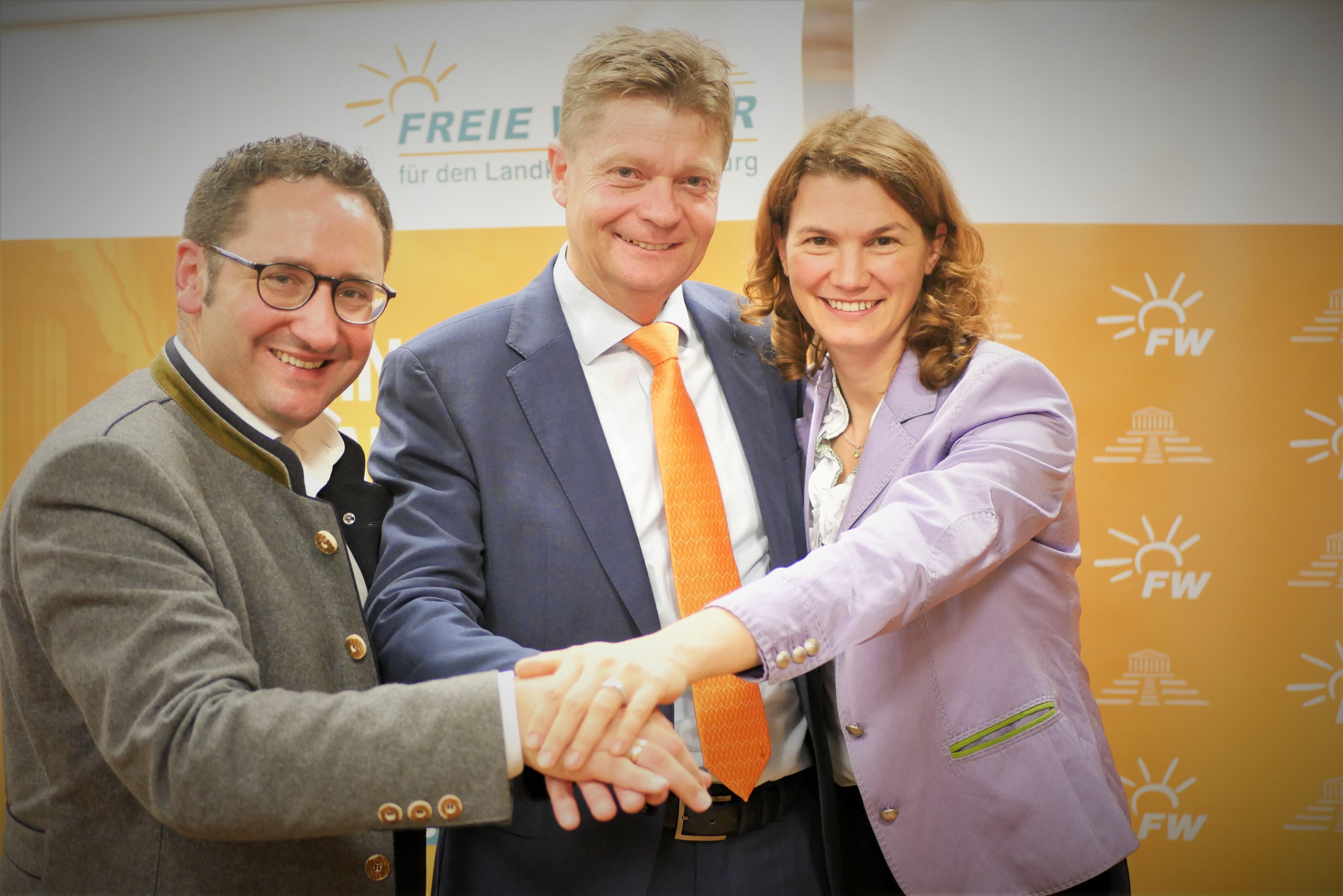 Harald Stadler ohne Gegenstimme als Kreisvorsitzender bestätigt