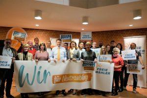 Gemeinsam für Neutraubling: Mit Harald Stadler an der Spitze packen die FREIEN WÄHLER an